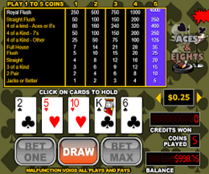 Online Video Poker Image 2