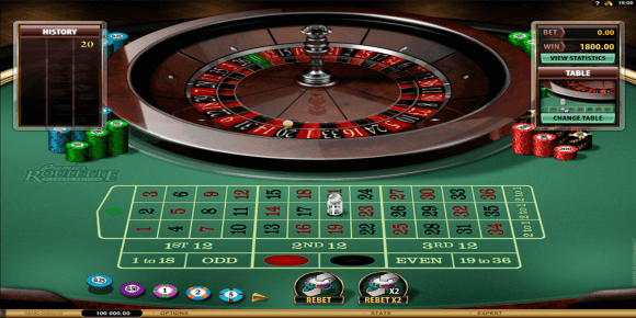Microgaming Roulette Image