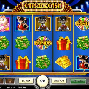 Nova slot Cats & Cash da Play 'n Go