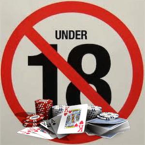 Ação severa sobre a participação de menores em jogos de azar no território de Espanha