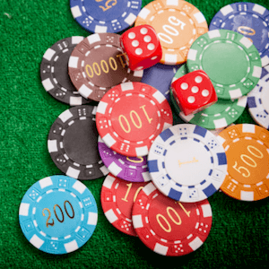 table game casino chips