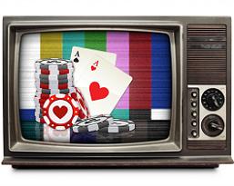 Jogos de casino na TV a crescer em popularidade