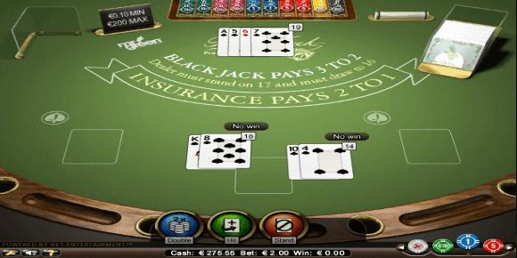 Blackjack Splitting Image