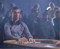 Ronaldo aprecia um bom jogo de Poker